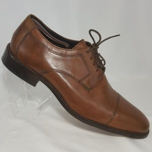 Johnston and Murphy Cap Toe Oxfords Men's Sz 12 M
